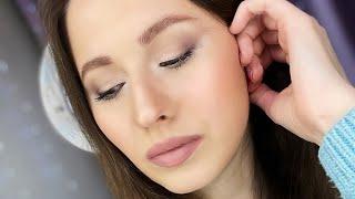 Макияж палеткой Zoeva Taupe Макияж на маленьких глазах Уроки макияжа