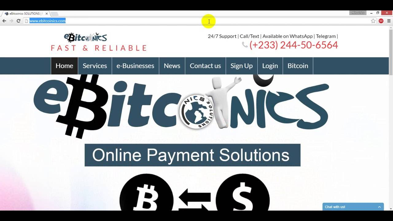 Buying Bitcoin In Ghana Ebitcoinics (ebitcoinics) In A Previous Howto