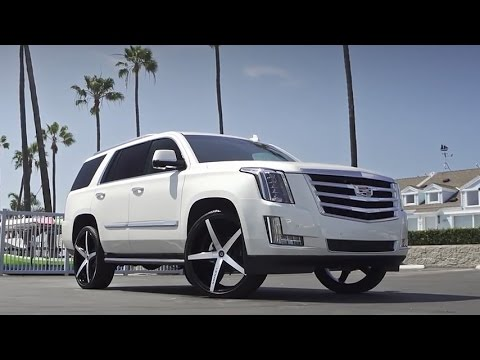 2015 Cadillac Escalade On 26 Quot Lexani Wheels Youtube