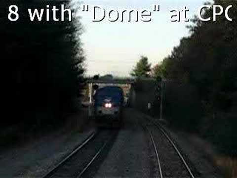 Amtrak Dome in Saratoga