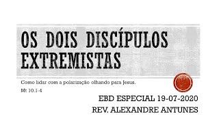 EBD 19/07/2020 - ESPECIAL