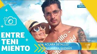 """Christian Estrada habló sobre su relación con """"La Guzmán""""   Un Nuevo Día   Telemundo"""