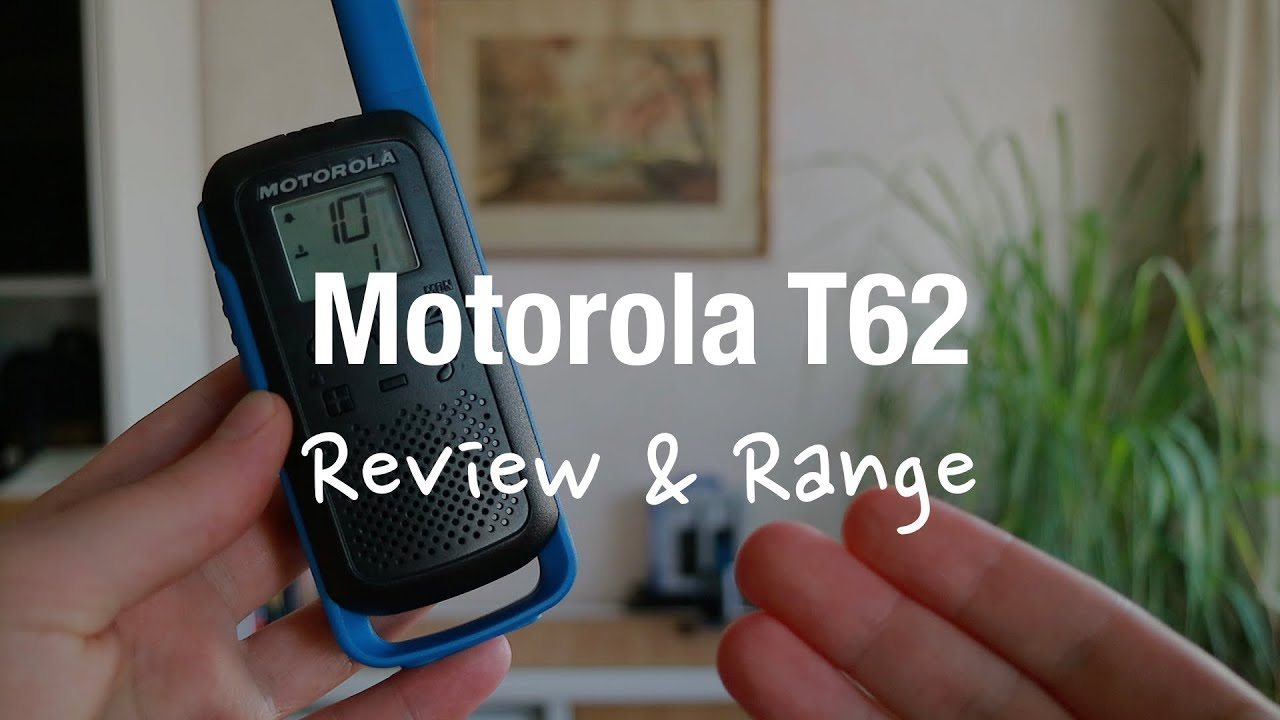 Motorola Talkabout T62 Walkie Talkies (Review and Range Test)