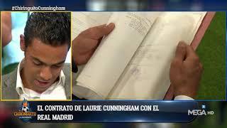 Sergio, HIJO de LAURIE CUNNINGHAM, MUESTRA SU CONTRATO con el REAL MADRID