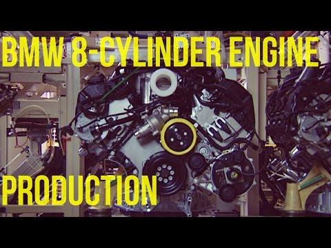 BMW V8 Engine with VALVETRONIC Assembly