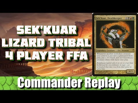 Sek'Kuar Lizard Tribal vs Myr Tribal, Sydri, Ramos