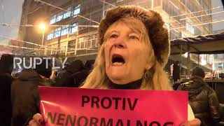 Serbia: Second protest against political violence hits Belgrade