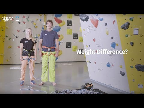 Climb Safe: How to belay with weight difference