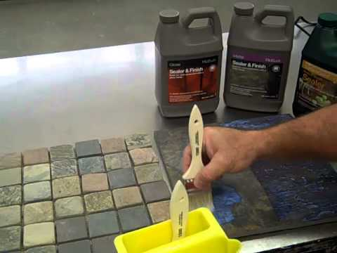 how to enhance stone with tilelab sealer