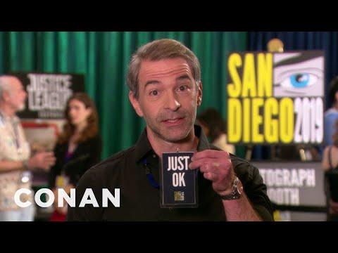 Jordan&39;s Just Ok ConanCon: Guy Who Runs Really Fast Edition
