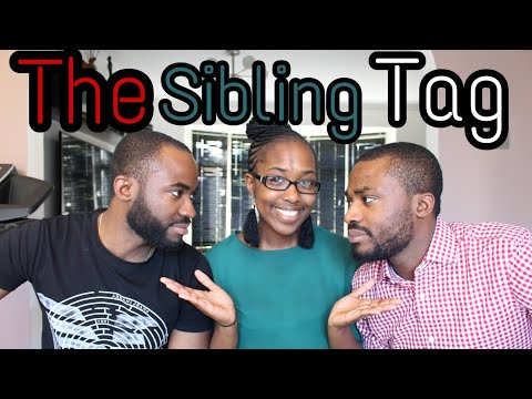 The Sibling Tag #Daviesbrothers