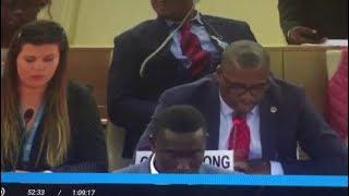 UN Human Right Council Meeting in Geneva on Ambazonia with Agbor Bala! Watch & Listen..