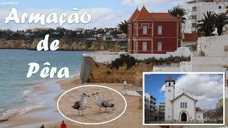 Praia de Armação de Pêra e Vila de Armação de Pêra