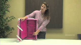 Rockland F211 Handmade Carry-On Rolling Trunk Luggage Thumbnail