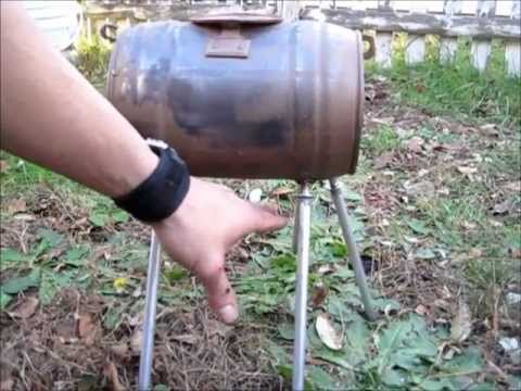 & DIY TENT WOOD STOVE PROTO # 4 - YouTube