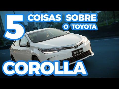 5 coisas sobre o Toyota Corolla 2018