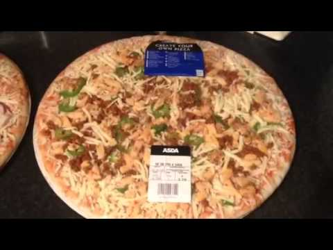 ASDA create your own pizza 14 inch - YouTube