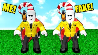 FAKE CRINGLEY TRICKED TO BECOME SIMON (Roblox MM2)