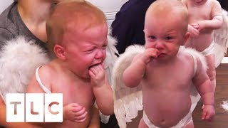 A Disastrous Valentines Photoshoot With 6 Babies! | Sweet Home Sextuplets