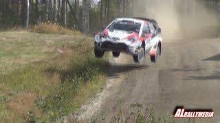 WRC Rally Finland 2019 SS4 Urria Sideways Jump (Hirvonen´s jump)