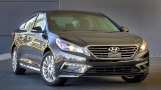 2015 Hyundai Sonata Start Up and Review 2.4 L 4-Cylinder