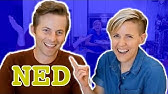 My Drunk Kitchen: Pizza Cake ft. THE TRY GUYS! (Part One... Ned)
