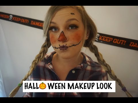HALLOWEEN MAKEUP TUTORIAL | SCARECROW 2019 thumbnail