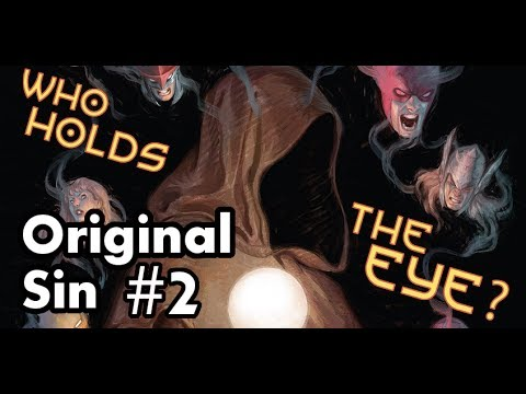 Original Sin #2 Review/Recap! Who Holds The Watchers Eye?