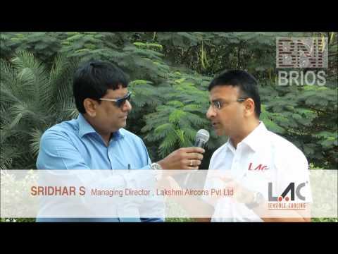 Interview with Mr. SRIDHAR S of Lakshmi Aircons Pvt Ltd