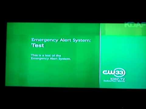 Cw 33 Local Emergency Alert System Test Youtube