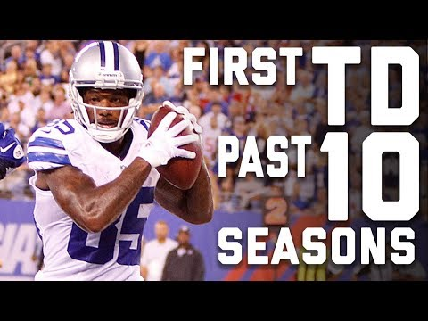 The First Touchdown from the Past 10 Seasons | NFL Highlights