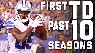 The First Touchdown from the Past 10 Seasons   NFL Highlights