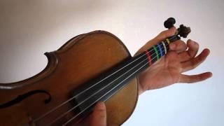 Tutoriel violon joyeux anniversaire - happy birthday