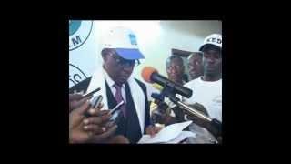 Convention du MRC de Maurice KAMTO des 28 et 29 Septembre 2012