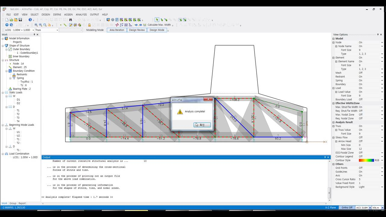 Background image max width - Strut And Tie Model Software Astruttie Auto Calculate Max Width Of Abut Footing