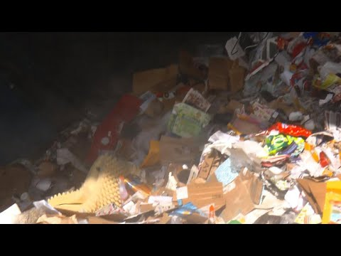 Recycle centers overwhelmed with boxes post-holiday shopping