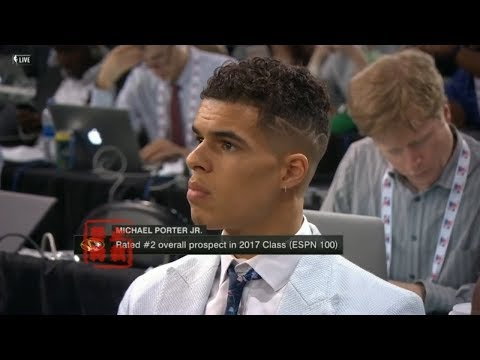 Michael Porter Jr Can't BELIEVE Nuggets Selected Him With 14th Pick!
