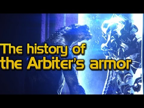 The history of the Arbiter's armor