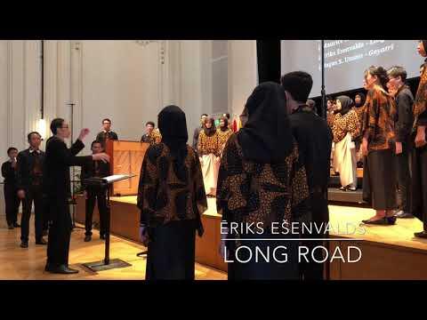 """Bogor Agricultural University Student Choir Agria Swara: """"Long Road"""" (Ēriks Ešenvalds)"""