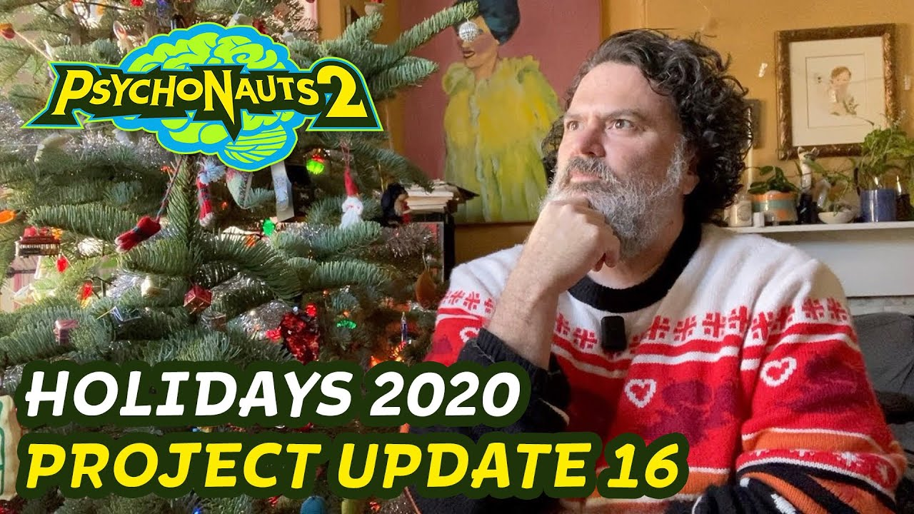 Psychonauts 2 - Project Update 16 - Holiday Update 2020