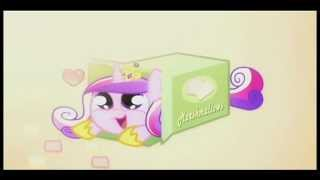 Ponies Sliding into Boxes +2snacks ending Video