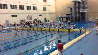 2015全國春季游泳賽-男子組50公尺自由式決賽