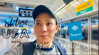 New York Travel Vlog Part 1 - Departure and Arrival