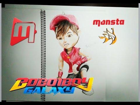 Boboiboy Galaxy Melukis Boboiboy Api Youtube