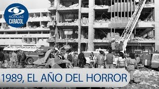 Los hechos más violentos que golpearon a Colombia en 1989