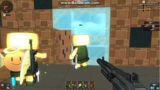 [HD]  BrickForce 創世槍神 - 甚麼飛天豬豬槍啊!