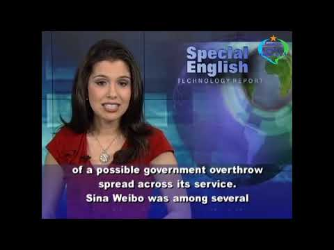 Learn English with VOA Special English - New Rules for Sina Weibo Users in China Take Effect May 28