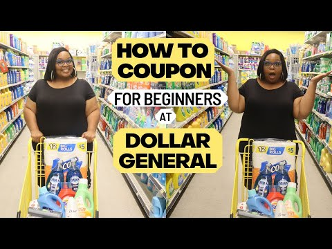 How To Coupon At Dollar General For Beginners Couponing 101 (2020)