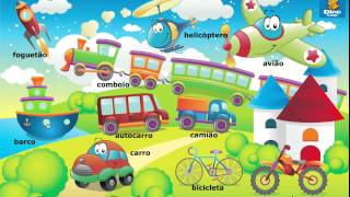 Online Eu Portuguese games - Click and tell online game - Portuguese language learning game for kids