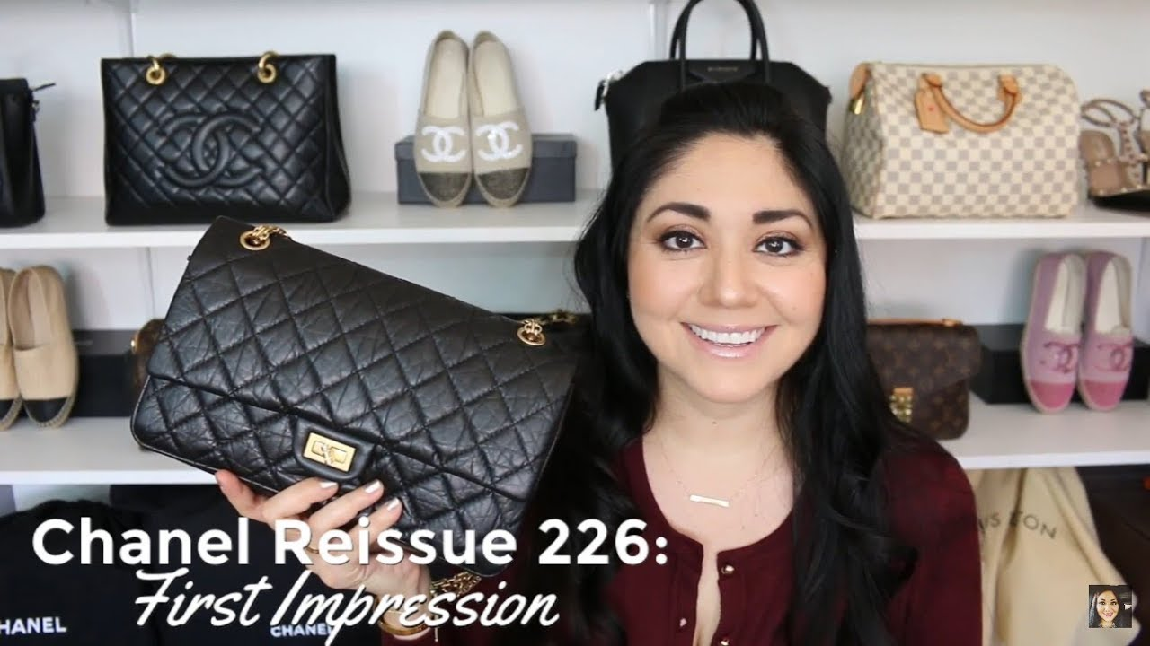 a90ab318b5a116 Chanel Reissue 226 | First Impression | Minks4All - YouTube